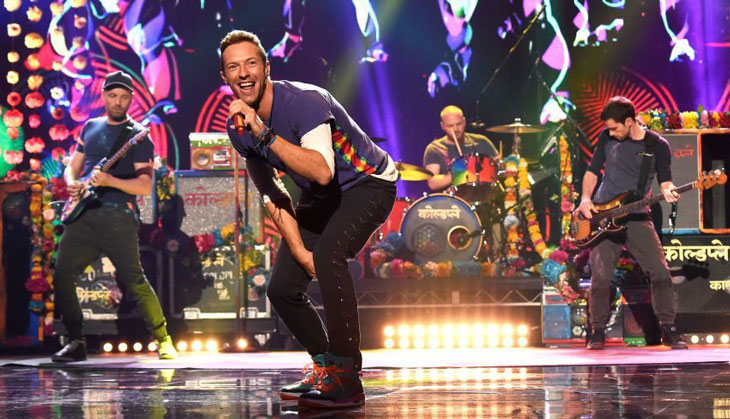 Coldplay at the superbowl