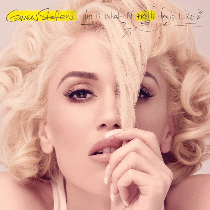 """Gwen Stefani's album cover, """"This is What the Truth Feels Like"""""""