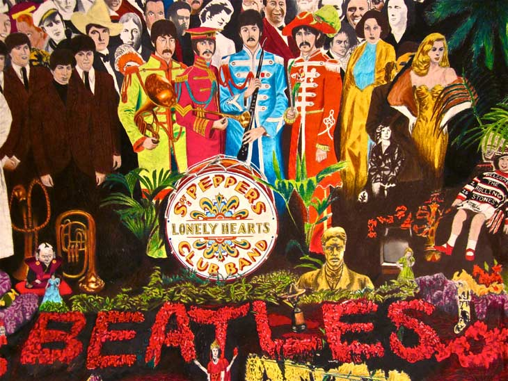 Sgt. Pepper's Lonely Hearts Club Band album cover