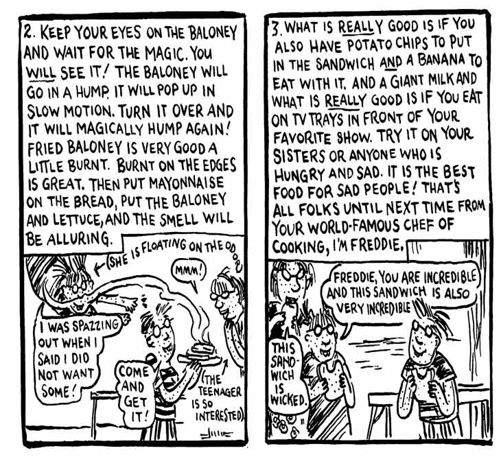 Lynda Barry's comics, Freddie