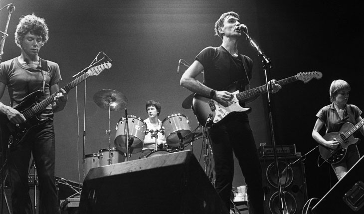 Picture of The Talking Heads live