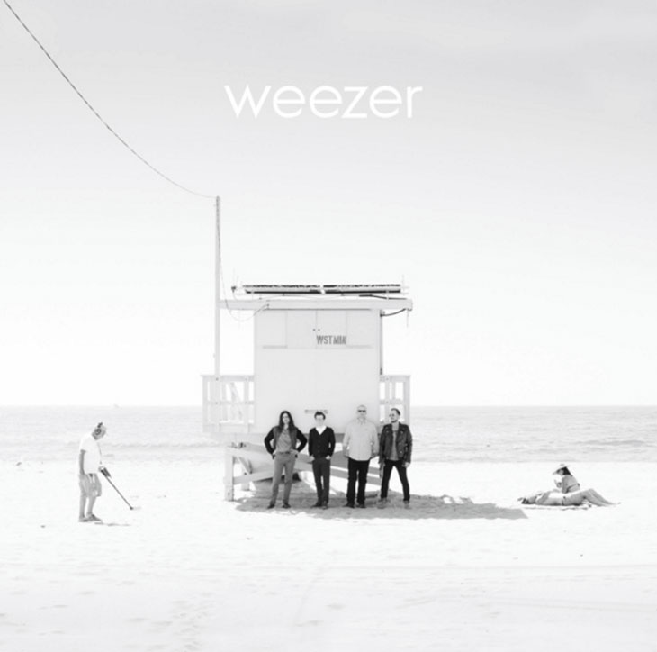 Photo of weezer album cover