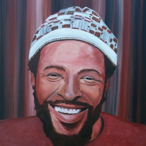 Painting of Marvin_Gaye
