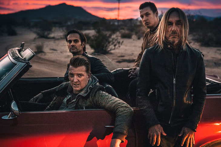 Photo of Iggy Pop and Josh Homme