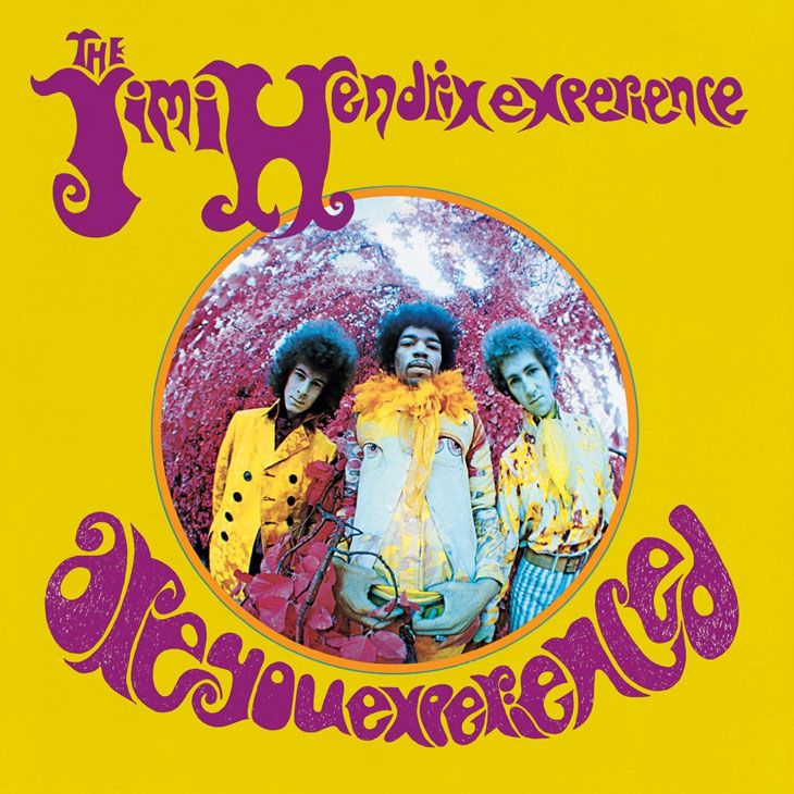 Photo of Jimi Hendrix-Are you Experienced album.