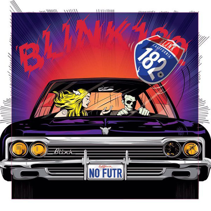 Photo of Blink 182 album art