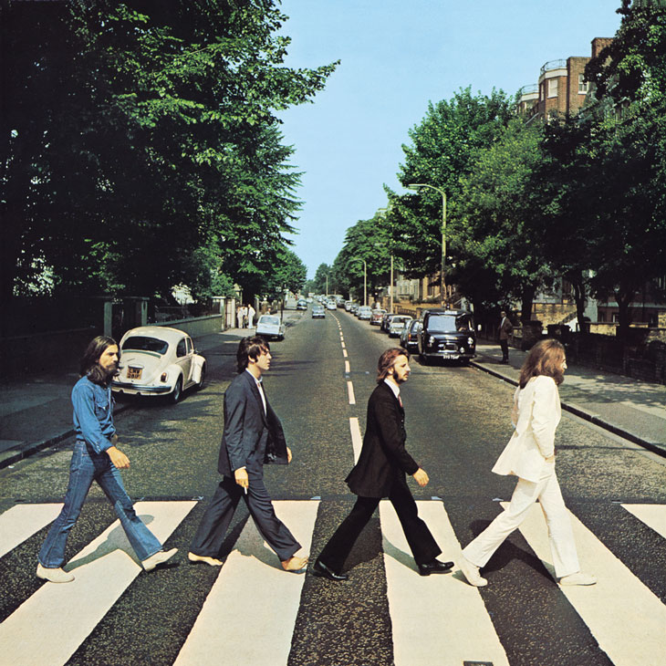 Picture of The Beatles album art, Abbey Road