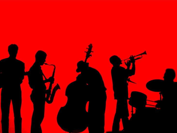 Photo of jazz band
