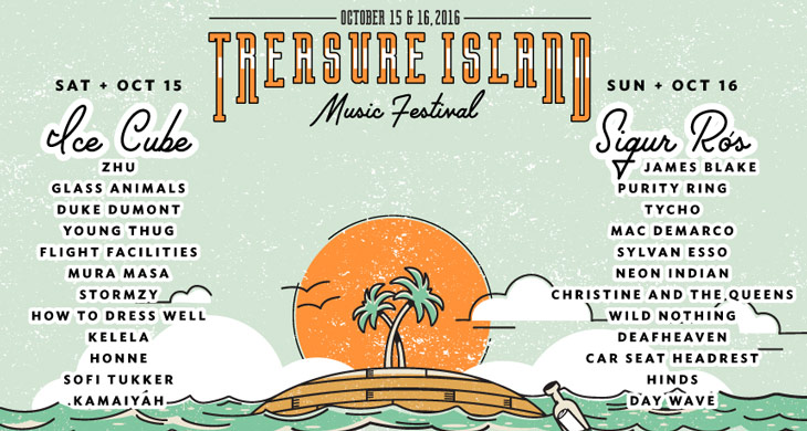Picture of Treasure Island Music Festival Lineup