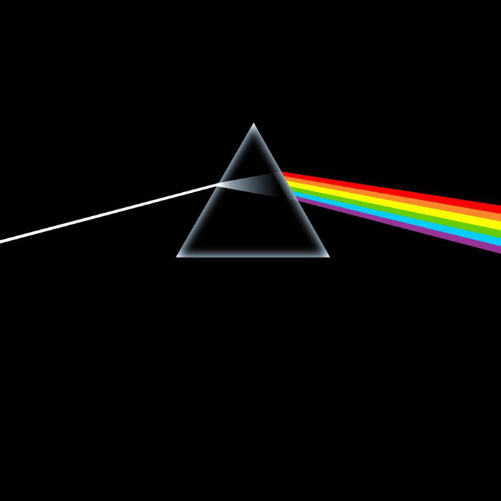 Picture of pink floyd Dark Side of the Moon album art