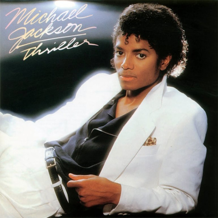 Picture of Thriller album art by Michael Jackson
