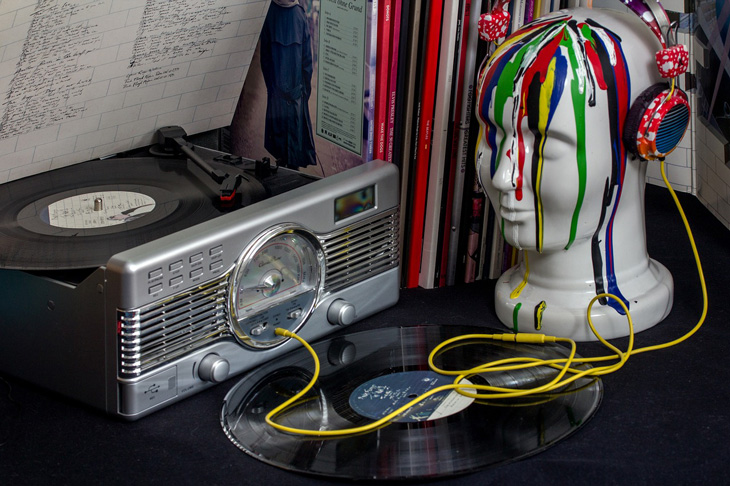 Photo of creative turntable