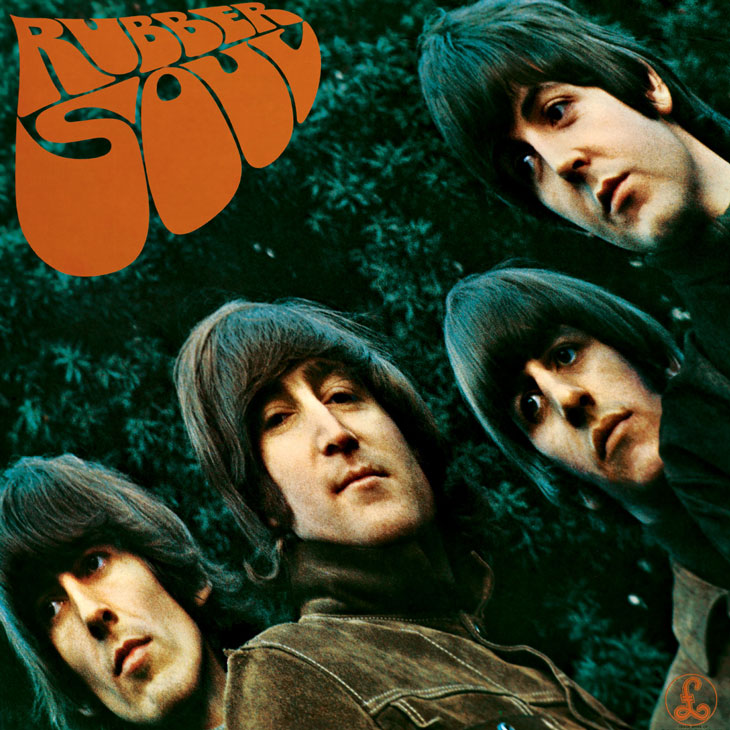 picture of The Beatles Rubber Soul album art