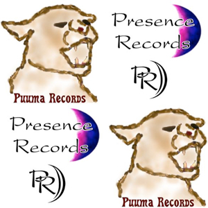Picture of Running Moose record labels