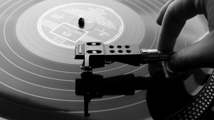 Picture of a Turntable