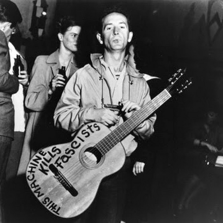 Picture of Woody Guthrie