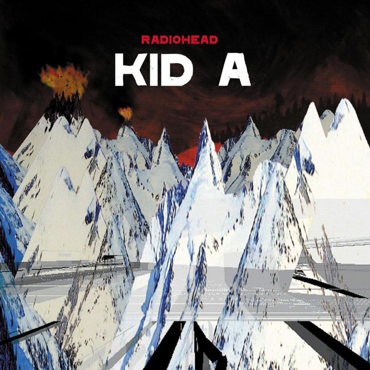 Picture of Radiohead album art