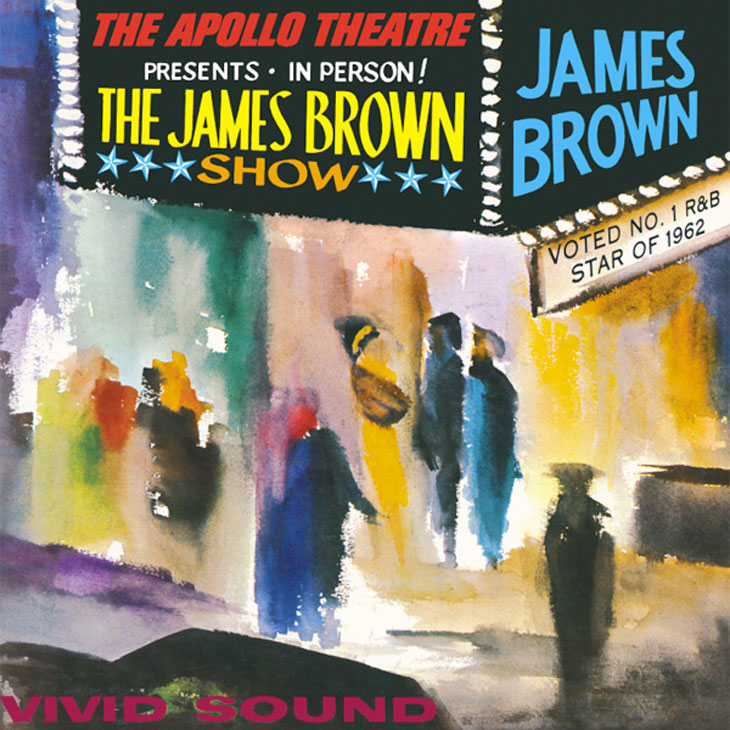 Photo of James Brown - Live at the Apollo