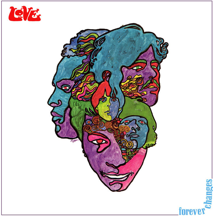 Photo of album of Love—Forever Changes